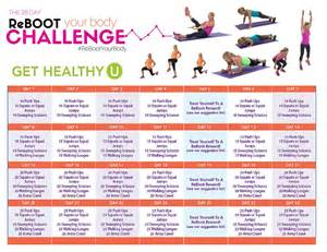 reboot your body 28 day challenge get healthy u