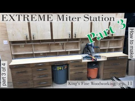 build  extreme miter station part  drawer