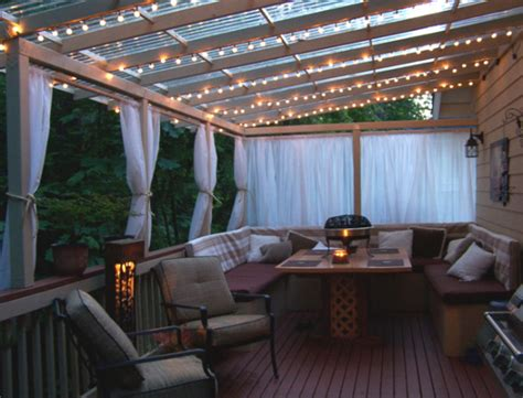 Christmas Shower Curtain Set - real backyard decks that rock 1