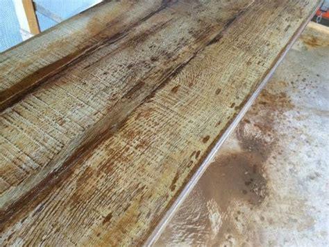 diy concrete countertops look like wood 8 best faux wood finish concrete countertops images on
