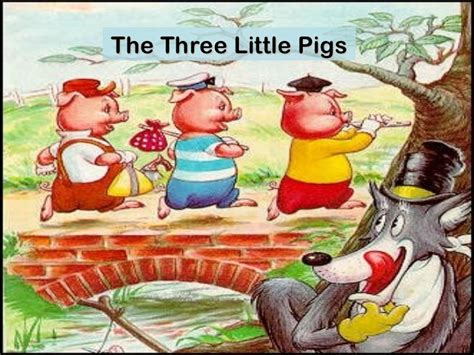 the three little pigs three little pigs