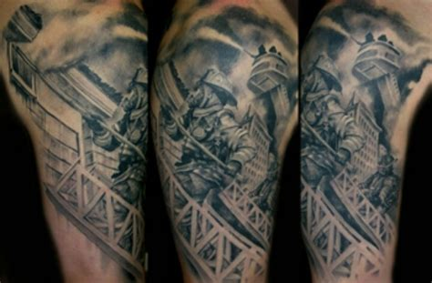 fire fighter tattoos firefighter ink tattoos and