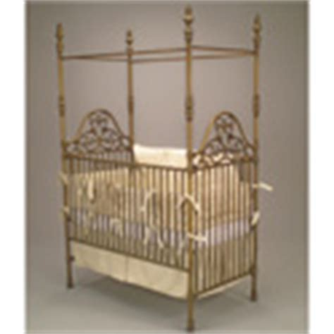 Wrought Iron Cribs by Shop Wrought Iron Metal Crib Set Vintage Antique