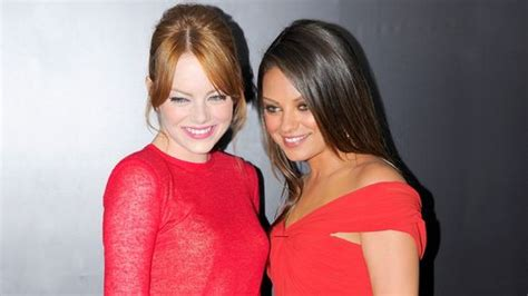 emma stone and mila kunis emma stone and mila kunis on style pinterest
