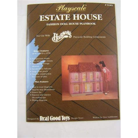 good home design books playscale estate doll house plans book houseworks 1 8 1 6