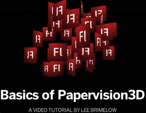 typography tutorial flash 30 hand picked flash and essential actionscript 3 0
