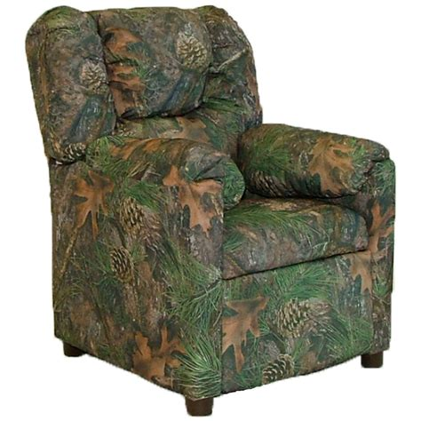 camo recliners camouflage stratolounger child recliner at hayneedle