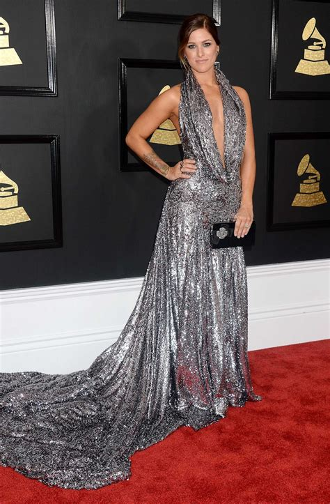 Grammy Awards by Cassadee Pope At The 59th Grammy Awards In Los Angeles