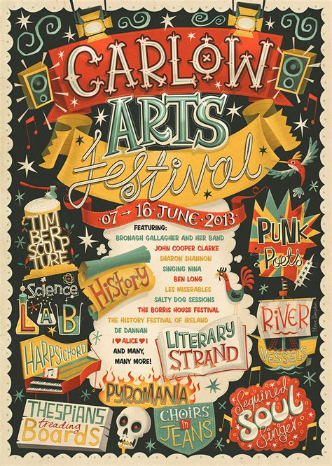 arts festival carlow arts festival poster on behance