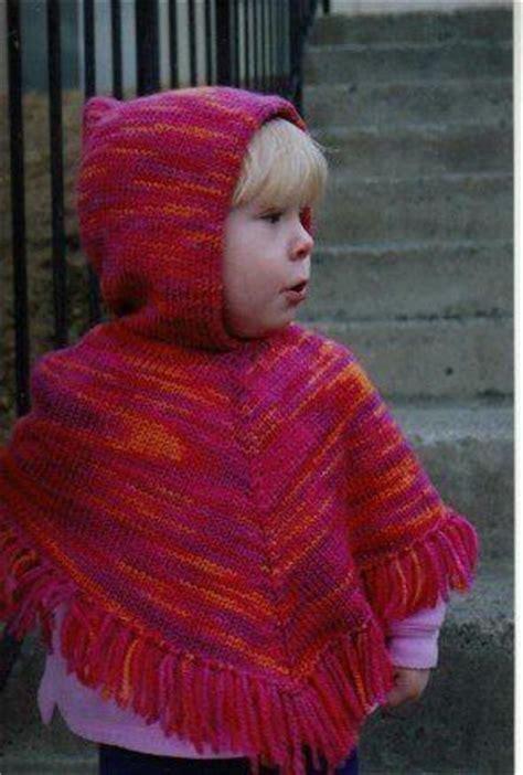free easy baby poncho knitting pattern ponchos children s poncho and poncho patterns on