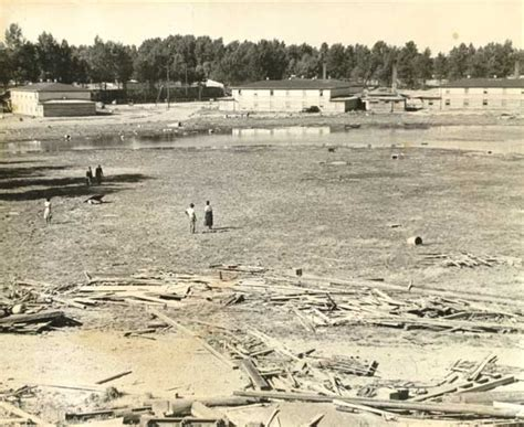 Portland Records Request Center 1948 Vanport Flood Aftermath Mud Flats