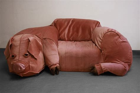 couch fun pig couch
