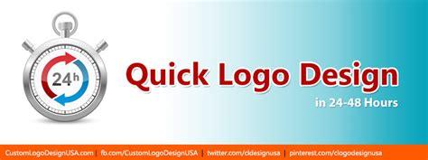design a logo quick quick logo design in 24 48 hours custom logo design usa