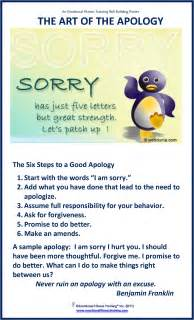 Emotional Apology Letter To Apologies Healthy For You And Your Child Parents Are