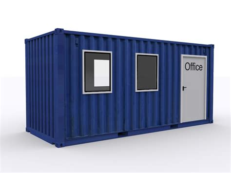 container bureau office in container