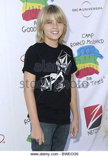 C Ronald Mcdonald For Times 14th Annual Carnival by Cole Sprouse 2006 Stock Photos Cole Sprouse 2006 Stock