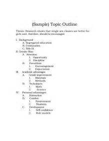 topical outline template best photos of research paper topic outline sle topic