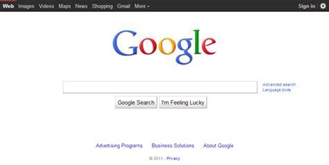 google imagenes url la evoluci 243 n de google 1997 2013 emezeta com
