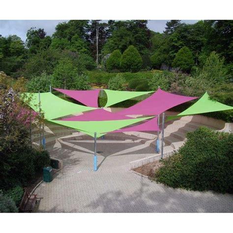 tende vela per giardino tende a vela ombreggianti triangolari colorate da giardino