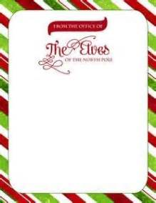 Official Letterhead From The Pole Official Letterhead Of The Pole Great For Letters From Santa Or Elves On The Shelf