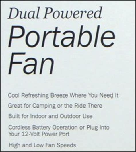 roadpro rp8000 12 volt battery operated 10 portable fan roadpro portable fan dual powered 10 inch reviews by