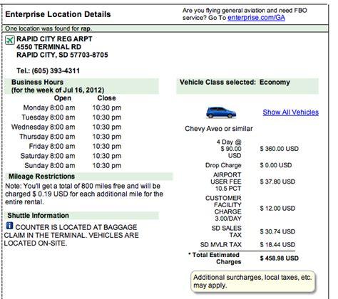 enterprise car rental receipt template enterprise rent a car we ll you up just not at an