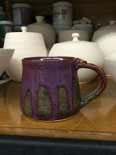 amaco ceramics smokey merlot tenmoku amaco glaze pottery glazes