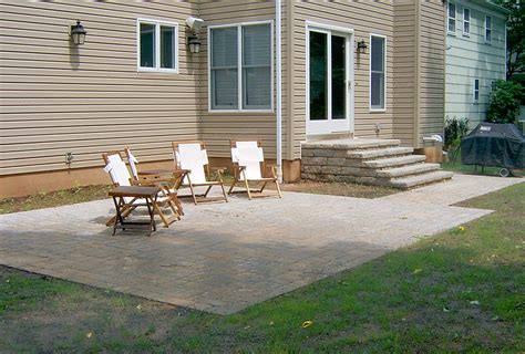 backyard patio steps outdoor furniture design and ideas