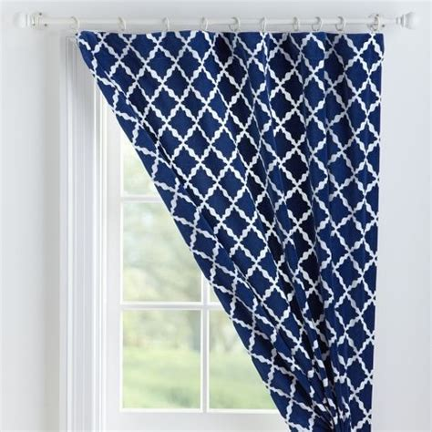 navy patterned curtains navy curtains my house and patterned curtains on pinterest