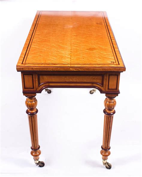 Antique Desk Styles by Antique Gillows Style Bird S Eye Maple Writing Table Desk