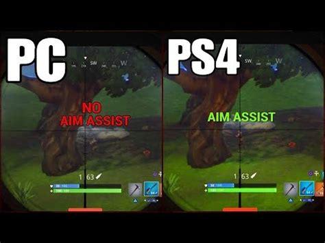 fortnite aim assist fortnite sniping on pc vs on console aim assist