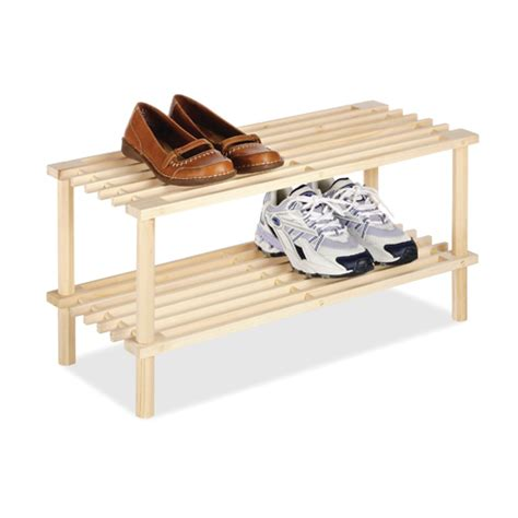 wood shoe rack two tier wood shoe rack in shoe racks