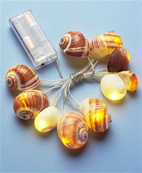 Seashell String Lights The Lakeside Collection Seashell String Lights