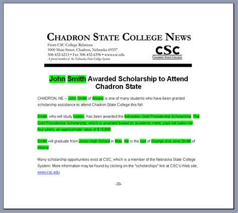 award press release template scholarship awards readmedia wiki