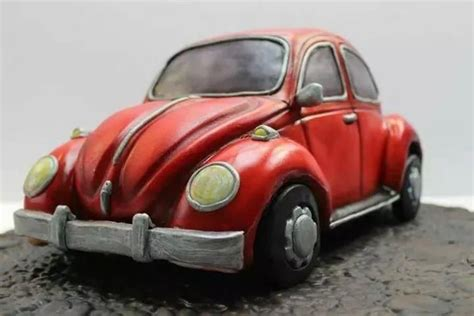 Decorated Vw Beetle by Retro Vw Beetle Cake Cake By Novel T Cakes Cakes Cake Decorating Daily Inspiration