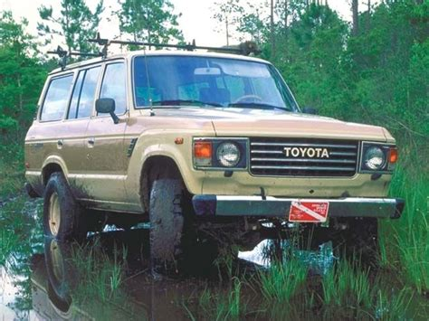 yellow toyota truck 1985 toyota landcruiser ours is dark green the 83 is