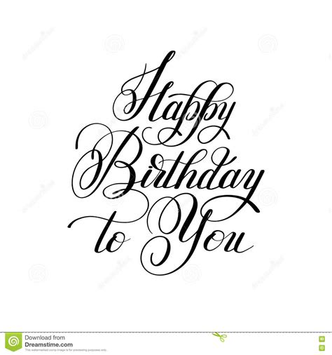 typography template lettering inscription typography template happy birthday