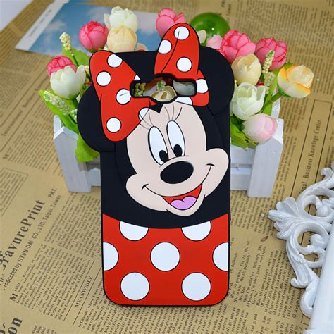 Samsung Grand Prime 3d Silicone Mickey Minnie 1 Mouse Back Cover T19 4 ᑐ minnie mickey mouse silicone cover for ᗚ samsung samsung galaxy s3 neo s4 s5
