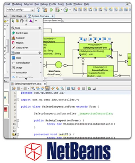tutorial netbeans uml perform uml modeling in netbeans