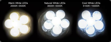 whats brighter cool white or warm whitr color temperature comparison vehicle bright leds