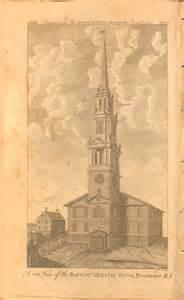 Baptist Church Interior Design Religion In Eighteenth Century America Religion And The