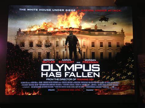 olympus has fallen film gucken olympus has fallen uk quad poster heyuguys