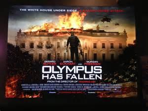 olympus has fallen film location olympus has fallen uk quad poster heyuguys