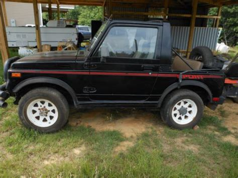 how can i learn about cars 1985 suzuki sj navigation system buy used 1985 suzuki samurai jimny sj410 sport utility 2 door project in cordova south