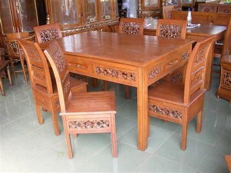 Meja Makan Jati Asli tips dalam memilih meja makan jati jepara canergoz