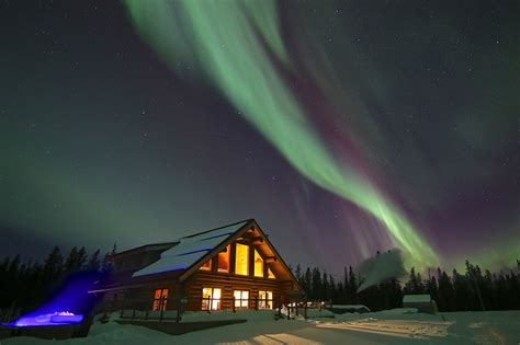 Northern Lights Resort And Spa In Yukon Canada