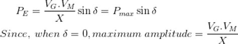 swing equation in power system transient stability in power system electrical4u