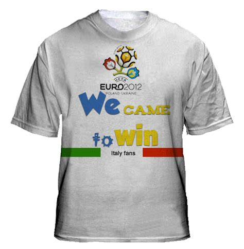 Kaos Tshirt Italia t shirt design supporters italy 2012 collections t