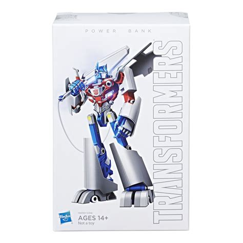 Power Bank Samsung Transformers xiomi optimus prime power bank in package images transformers news tfw2005