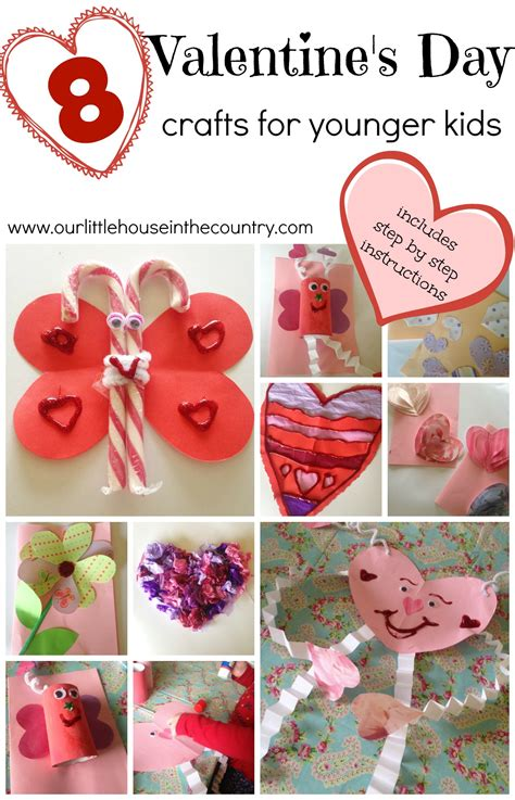 preschool valentines day valentine s day crafts for younger children preschool and
